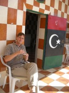 En route to Jebel Nafusa, June 2012